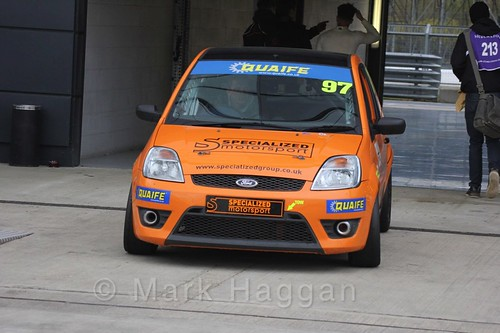 Samuel Oram-Jones' Fiesta at the BRSCC Weekend, Silverstone, April 2016
