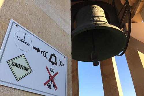 Malte - La Valette / La cloche du mémorial