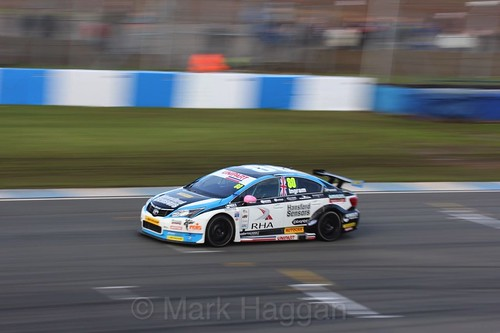 Tom Ingram during the BTCC Weekend at Donington Park, April 2016