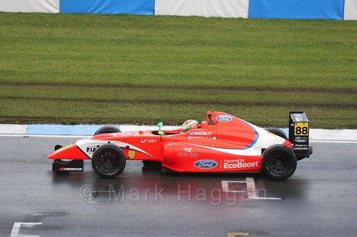 Jack Martin during the British Formula Four during the BTCC Donington Weekend: 16th April 2016