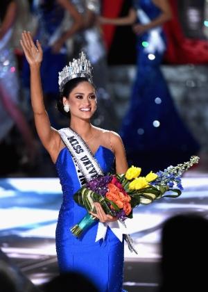 """Seria difícil dividir a coroa"", diz Miss Universo sobre rival colombiana"