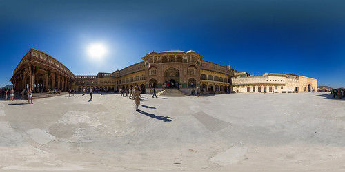 Jaipur Amber Fort Panorama