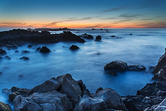 Tidal shoreline at Pacific Grove
