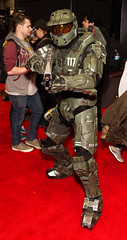 "Spartan reporting for duty! #cosplay #halo #C2E2 • <a style=""font-size:0.8em;"" href=""http://www.flickr.com/photos/33121778@N02/25341800313/"" target=""_blank"">View on Flickr</a>"