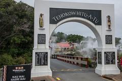 Whakarewarewa Maori village