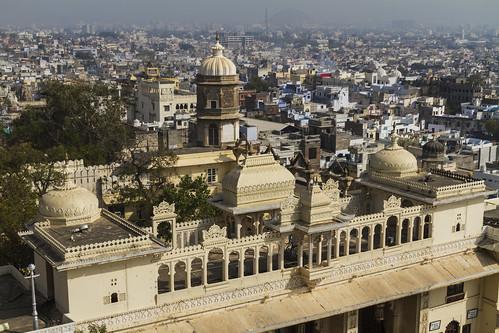 Udaipur: City Palace und Stadt