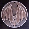 "'Bat' pendant carving in 1964 Silver Half $ • <a style=""font-size:0.8em;"" href=""http://www.flickr.com/photos/72528309@N05/23950834023/"" target=""_blank"">View on Flickr</a>"