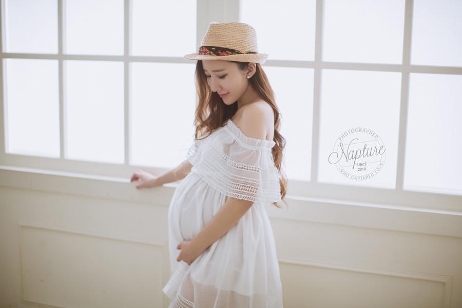 孕婦寫真,孕婦照,蔣樂,清新孕婦寫真