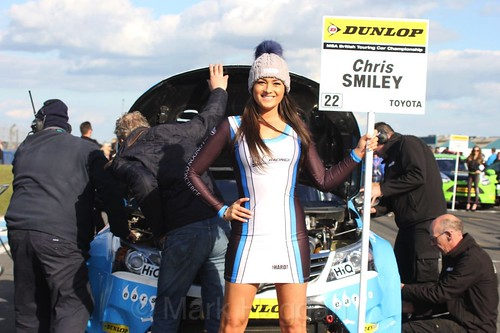 Chris Smiley during the BTCC Donington Weekend, April 2016