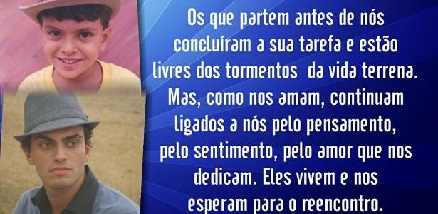 Cremação do corpo de neto de Chico Anysio é transferida para domingo (6)