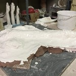 "Plaster cast <a style=""margin-left:10px; font-size:0.8em;"" href=""http://www.flickr.com/photos/30723037@N05/25095671082/"" target=""_blank"">@flickr</a>"