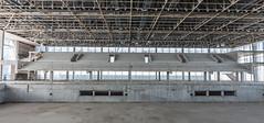 Empty tiers of seats waiting for spectators... - Gradas vacias esperando a los espectadores...