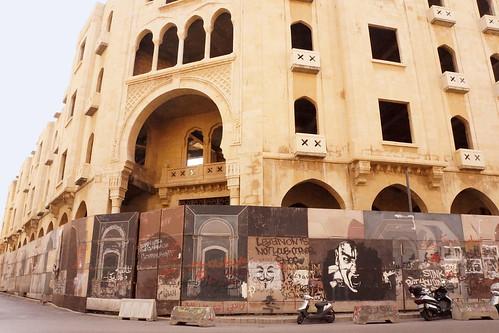 Beyrouth / Sahet al Nejmeh - Facade Ottomane