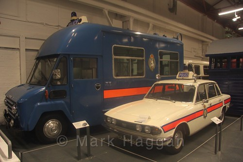 Police Vehicles at Coventry Transport Museum