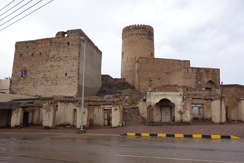 Le fort est en moins bon état ici.
