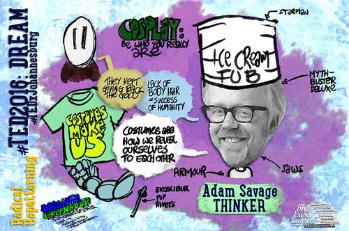 01 TED2016 -- Adam Savage -- Radical Repatterning
