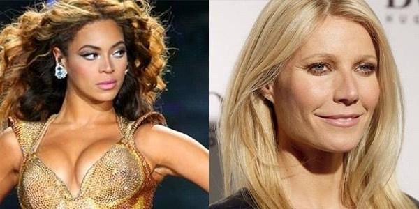Filhas de Beyoncé e Gwynet Paltrow andam de mãos dadas em foto