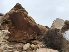 Petroglyphs, Arches National Park