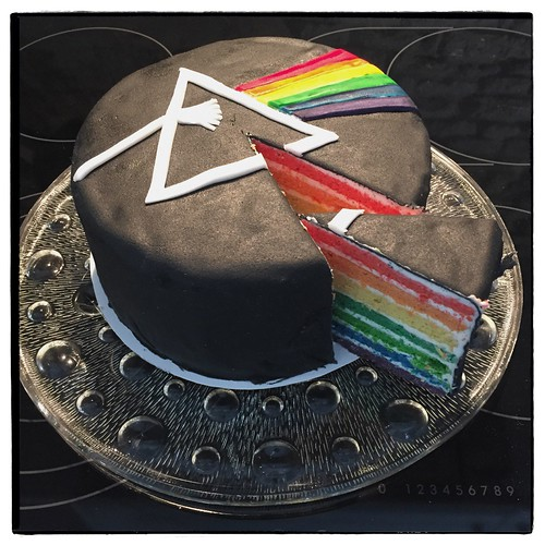 """Dark Side of the Moon Cake • <a style=""""font-size:0.8em;"""" href=""""http://www.flickr.com/photos/92578240@N08/25330396313/"""" target=""""_blank"""">View on Flickr</a>"""