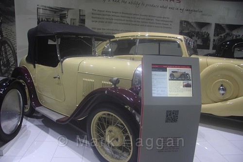 An Austin Seven at Coventry Transport Museum