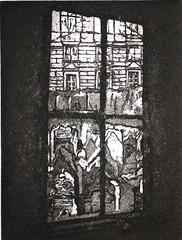 A. DI BARI_Sguardo, vernice molle e acquatinta, 2007