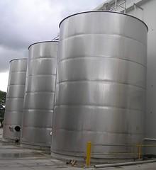 FIJI Waters Tanks Fabrication by Burns Welding