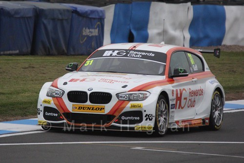 Jack Goff in the BTCC Media Launch Event 2016