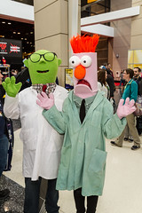 "Bunsen and Beeker! C2E2 2016 • <a style=""font-size:0.8em;"" href=""http://www.flickr.com/photos/33121778@N02/25328876704/"" target=""_blank"">View on Flickr</a>"