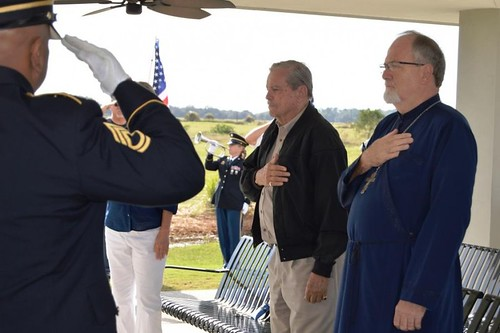 """Receiving Flag for Fallen Soldiers • <a style=""""font-size:0.8em;"""" href=""""http://www.flickr.com/photos/72479515@N06/25027811756/"""" target=""""_blank"""">View on Flickr</a>"""