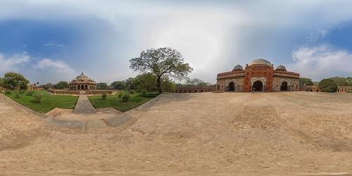 Humayun-Mausoleum in Delhi