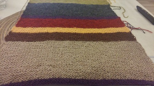 "Doctor Who Scarf • <a style=""font-size:0.8em;"" href=""http://www.flickr.com/photos/92578240@N08/25986952734/"" target=""_blank"">View on Flickr</a>"