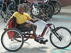 nouveau vélo de Sonson