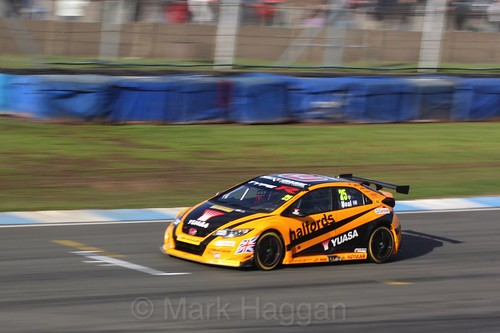 Matt Neal during the BTCC Weekend at Donington Park, April 2016