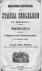G.R.Melidon_Relațiune_statistică_1862