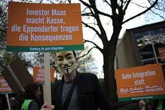 Demo Bürgerinitiative Eppendorf/Lokstedt
