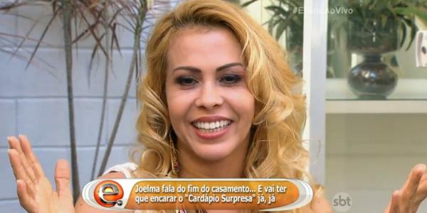 """""""Quero e vou me casar novamente"""", diz Joelma em entrevista na TV"""