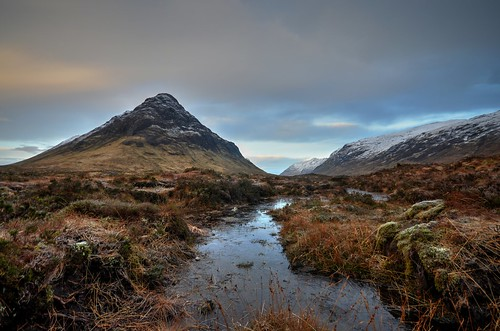 A Cold Morning in Buchaille Etive Mor