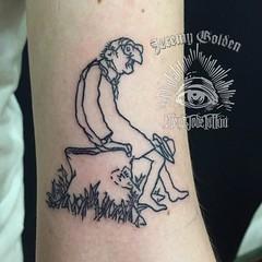 The Giving Tree. A lil Shel Silverstein homage. #eyeofjadetattoo #eyeofjade #jeremygolden #jeremy_golden #jeremygoldentattoo #shelsilverstein #thegivingtree