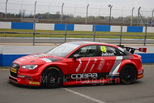 Ollie Jackson in the BTCC Media Launch Event 2016