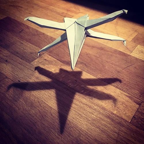 #Xwing #Starfighter #Origami #StarWars #maytheforcebewithyou