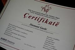 Diamant Certificate