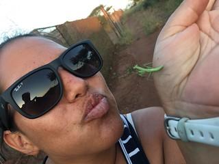 Ukuwela volunteer loving the little things