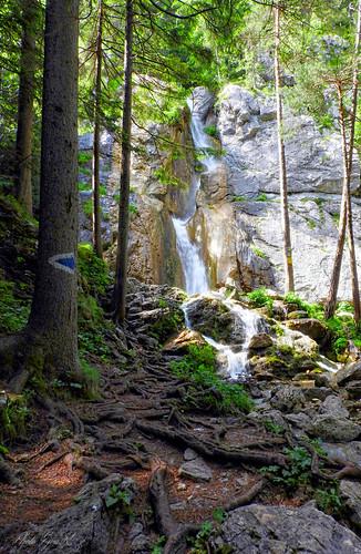 Waterfall Alps Summer / Vízesés Alpok Nyár