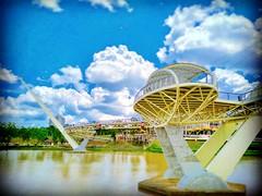 Batu Jetty 93000 Kuching, Sarawak https://goo.gl/maps/21iVsncpvjk  #travel #holiday #Asian #Malaysia #Kuching #旅行 #度假 #亚洲 #马来西亚 #古晋 #trip #traveling #วันหยุด #การเดินทาง #ホリデー #휴일 #여행 #праздник #путешествие #bridge #桥 #다리 #Jambatan #橋 #мост #สะพาน #Sarawa