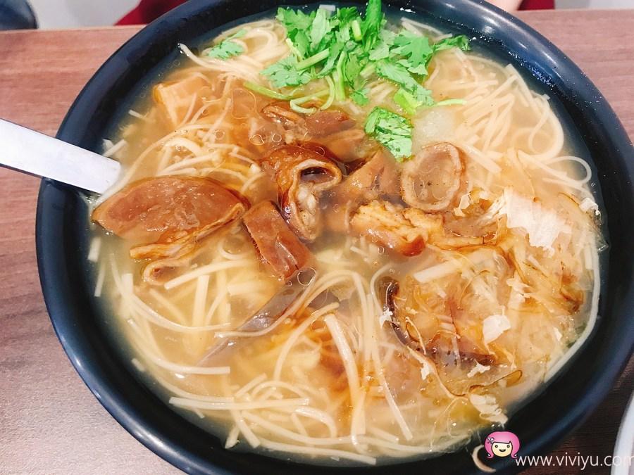 [桃園美食]日初.麵線.油飯~陽明公園附近小吃.清爽型麵線 @VIVIYU小世界