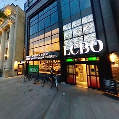 A new LCBO for our election blues...if needed. College & Bathurst beside the former Latvian Hall/Masonic Temple.