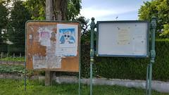 Panneaux d'affichage de Verberie