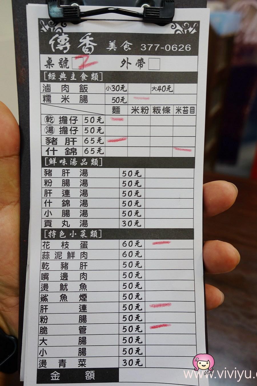 [八德美食]傳香美食館.八德廣豐新天地附近~銅板美食.什錦麵.糯米腸 @VIVIYU小世界