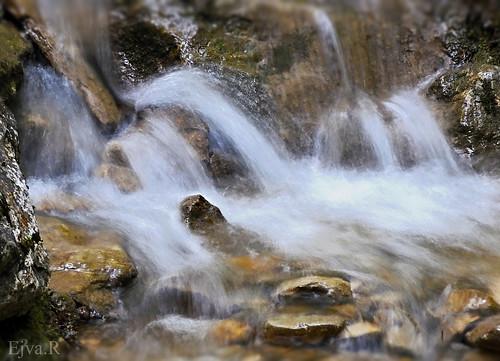 Waterfall Alps Stream/ Vízesés Alpok Patak