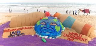 World Environment Day - Sand Art